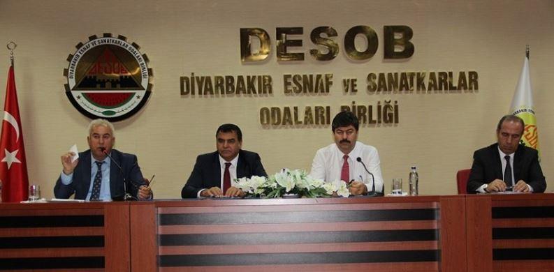 Diyarbakır Esnaf ve Sanatkarlar Bilgilendirme Toplantısı gerçekleştirildi