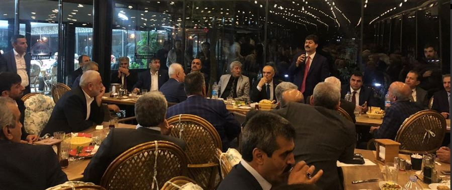 Esnaf, Sanatkarlar ve Kooperatifçilik Genel Müdürü Necmettin Erkan'ın katılımıyla Elazığ Esnaf Bilgilendirme Toplantısı gerçekleştirildi