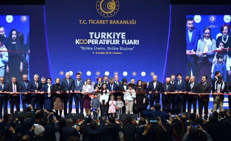 Türkiye Kooperatifler Fuarı Açılış Töreni