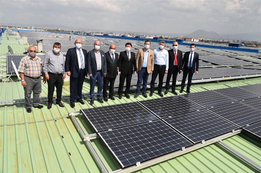 Kooperatifçilik Otobüsü Mobilyacılar Yenilenebilir Enerji Üretim Kooperatifini ziyaret etti