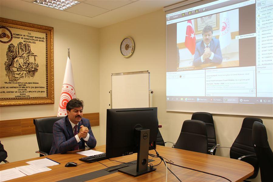 Kooperatiflerin Desteklenmesi Programı (KOOP-DES) ile ilgili 81 Ticaret İl Müdürü Bilgilendirildi.