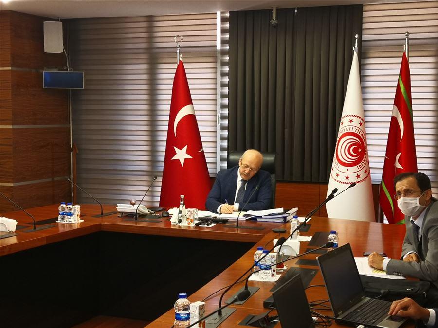 Uluslararası zeytin konseyi 111. Oturumu toplantısı gerçekleştirildi