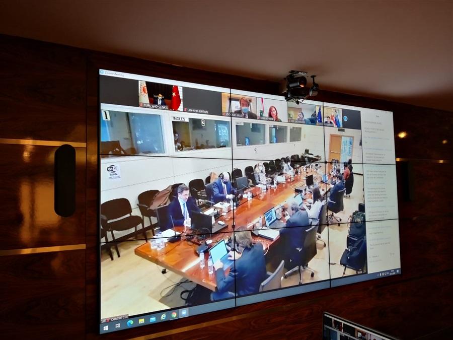 Uluslararası Zeytin Konseyi 112. Oturumu gerçekleştirildi.